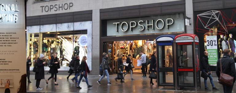 Top Shop Londres