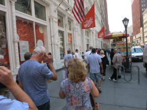 Store tour New York