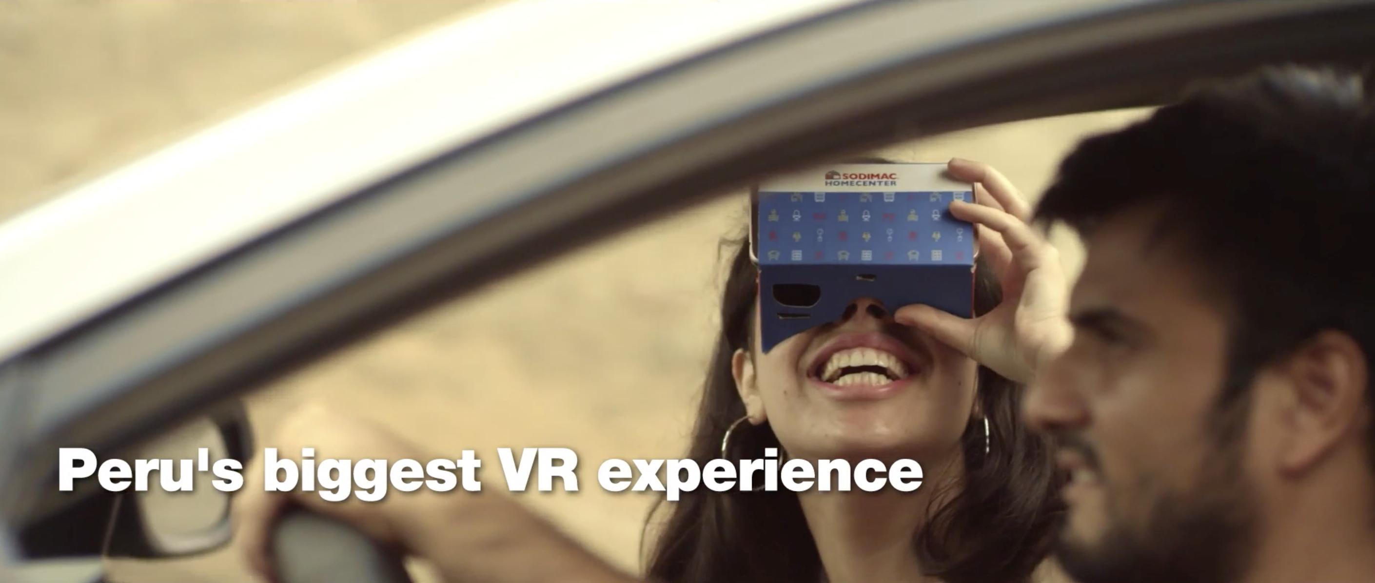 sodimac VR