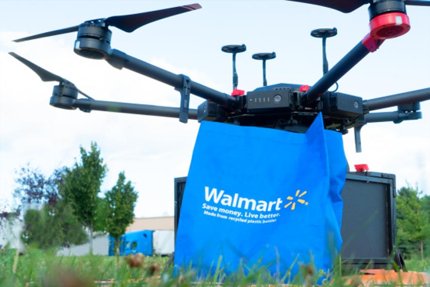 Drône Walmart