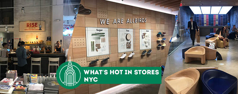 what's hot in store. New York