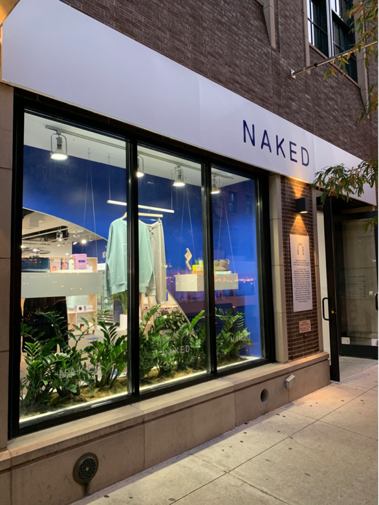Naked Retail store