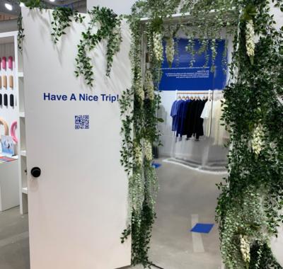 Visite du Naked Retail Store